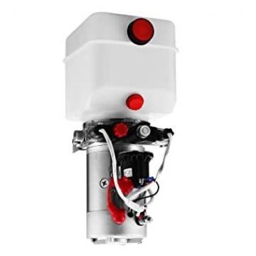 Flowfit 24V DC Single Acting Hydraulic Power Pack, 8L Tank & Hand pump ZZ005133