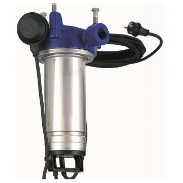 "Elettropompa pompa sommersa 4"" per pozzi 8GS07M 0,75kW 1Hp monofase 230V Lowara"